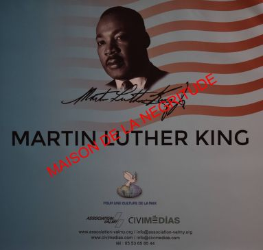 Expo en prêt: Martin Luther King